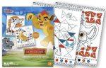 Oroszlán Őrség színezz számok szerint foglalkoztató Kiddo Books