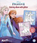 Frozen 2 glitteres színező