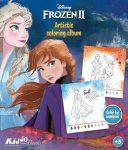 Frozen 2 szám szerinti színező Kiddo