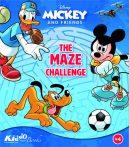 Mickey egér labirintus kihívás füzet Kiddo
