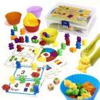 Montessori matematikai oktató, szortírozó játék