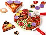 Készíts pizzát! Fajáték
