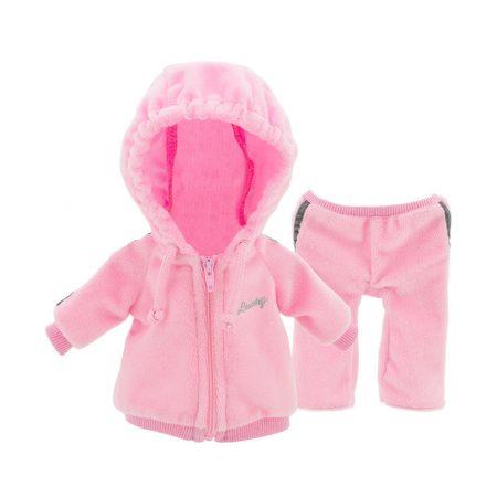 Lucky Doggy kiegészítő ruha, pink kapucnis fitness Orange Toys