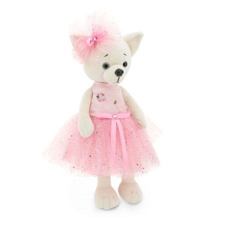 Lucky Doggy Lili plüss kutya pink ruhában Orange Toys