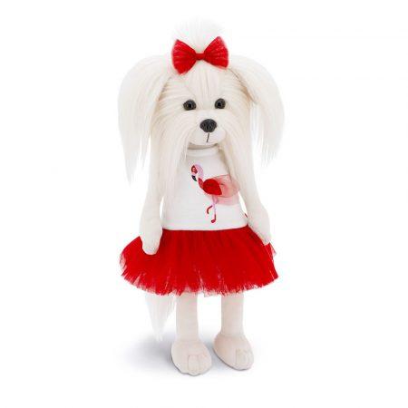 Lucky Doggy Mimi plüss kutya flamingós ruhában Orange Toys