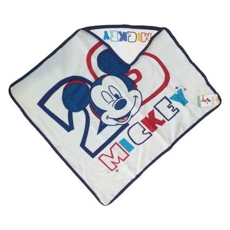 Mickey egér kapucnis babatörölköző