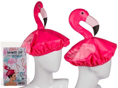 Flamingó fürdősapka