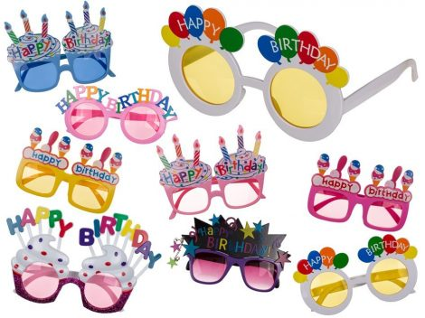 Party napszemüveg, több változatban