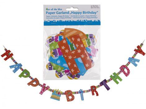 Happy Birthday Szülinapi felirat 155cm