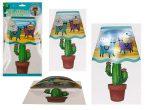 Éjjeli ledlámpa gyerekszobába Lámával Kaktusszal