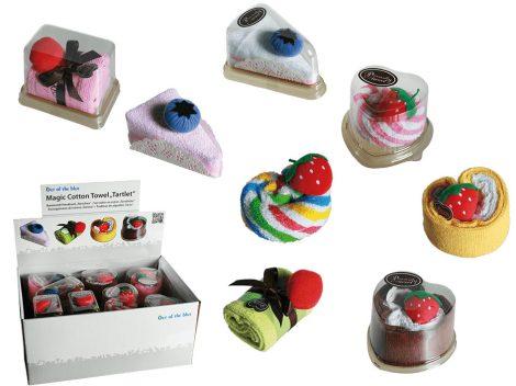 Kéztörlő törölköző, sütemény formák