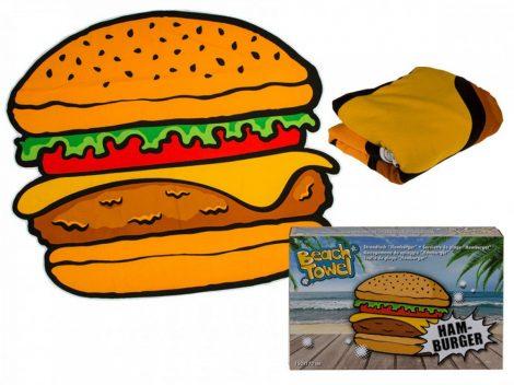 Strandtörölköző hamburger 150x170cm