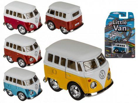 Modell autó Volkswagen T1 mini bus, 5cm