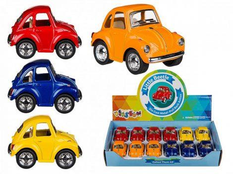 Modell autó VW Beetle, 5cm