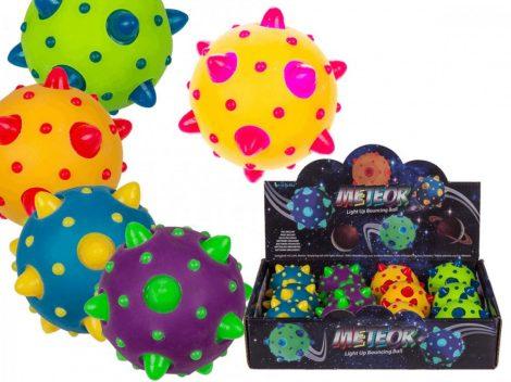 Pattogó Meteor labda Ledes világítással 6,5 cm