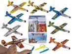 Játék repülőgép gumival indítható