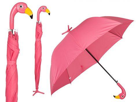 Flamingó esernyő, 96cm