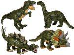 Plüss dinoszaurusz 43 cm 4 féle