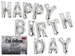 Fólia lufi, Happy Birthday, 40cm