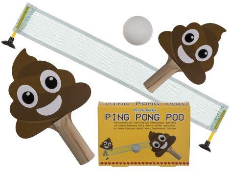 Kaki pingpong felszerelés, ütővel, labdával