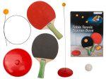 Asztalitenisz edzőbázis 2 pingpong ütővel és 3 labdával