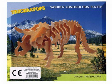 3D Fapuzzle dínók, többféle