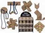 Mini készségfejlesztő fa játék