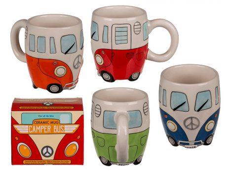 Kerámiabögre Volkswagen T1 mini bus