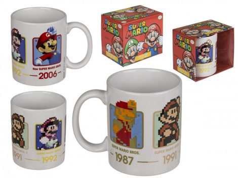 Super Mario kerámia bögre