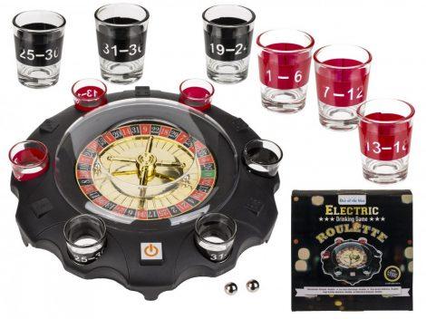 Partyjáték elektromos Roulette
