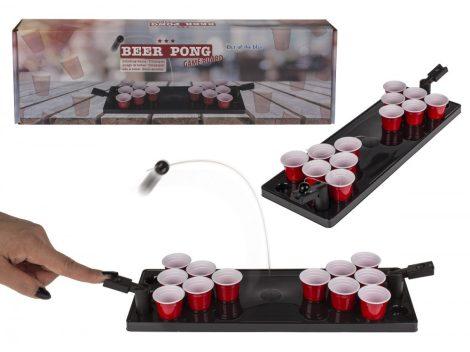 Partyjáték Beer Pong labdakilövővel díszdobozban