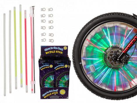 Kerékpárküllő világítás 6 db-os