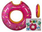Felfújható úszógumi, Pink Donut kb. 119 cm