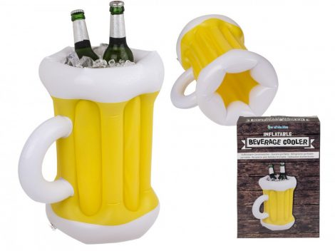 Felfújható söröskorsó alakú sörhűtő