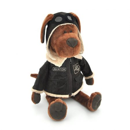 Orange Toys plüss nagykereskedés - Plüss Cookie a pilóta kutya 25cm Orange Toys