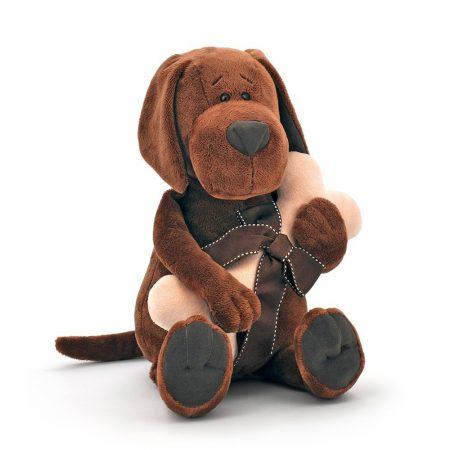 Orange Toys plüss nagykereskedés - Plüss Cookie a kutya csonttal 30cm Orange Toys