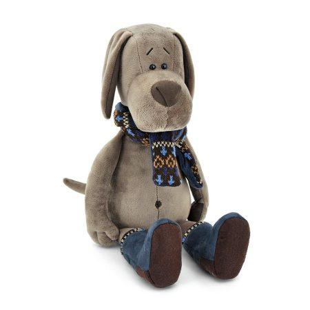 Orange Toys plüss nagykereskedés - Plüss Cookie a kutya sállal csizmában 30cm Orange Toy