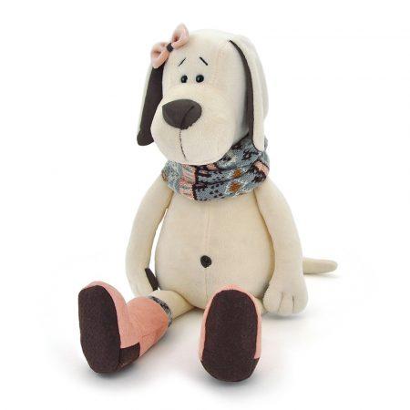 Orange Toys plüss nagykereskedés - Plüss Candy a kutya sállal csizmában 30 cm Orange Toys