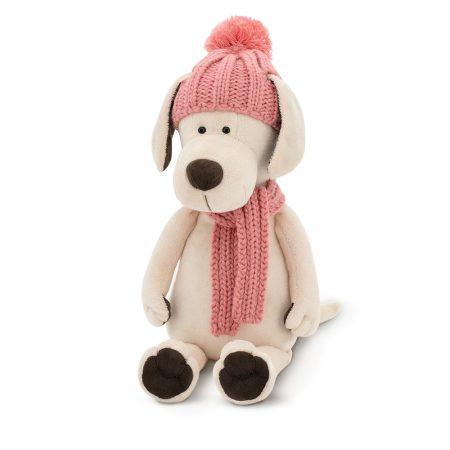 Plüss kutya - Candy téli ruhában - Orange Toys