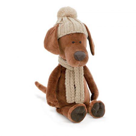 Plüss kutya - Cookie téli ruhában - Orange Toys