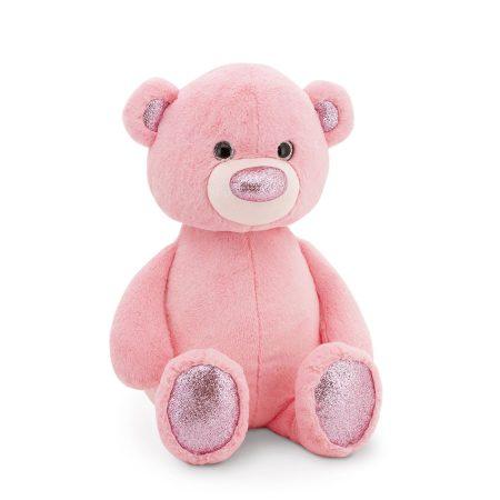 Fluffy a rózsaszín plüss maci 22 cm Orange Toys
