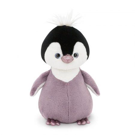 Csillogó szemű plüss Pingvin lila 22cm Orange Toys