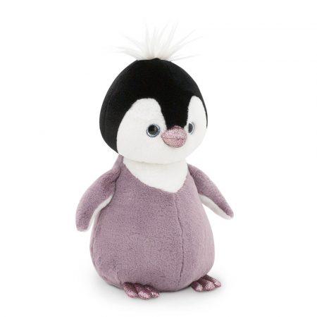 Csillogó szemű plüss Pingvin lila 35cm Orange Toys