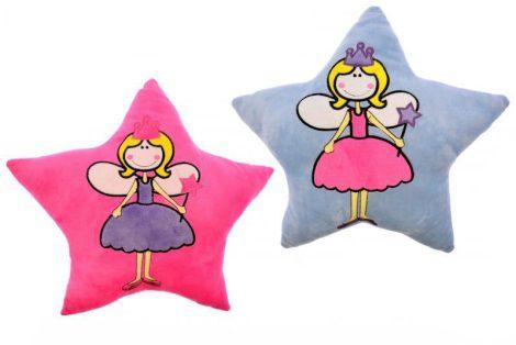 Tündér hercegnős csillag alakú plüss párna
