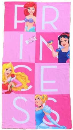 Disney Hercegnők gyerek strandtörölköző