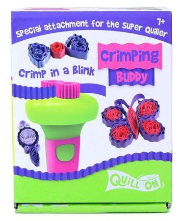 Quilling papírcsík technológia felszerelés nagykereskedés - Quilling- Papír kreppelő eszköz pink