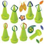 Quilling papírcsík technológia felszerelés nagykereskedés - Quill-on Quilling Formakészítő zöld