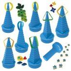 Quilling papírcsík technológia felszerelés nagykereskedés - Quill-On Quilling Formakészítő kék