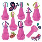Quilling papírcsík technológia felszerelés nagykereskedés - Quiill-On Quilling Formakészítő pink