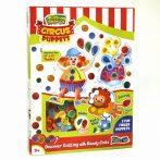 Cirkuszi Bábjáték Quilling készlet 3 éves kortól